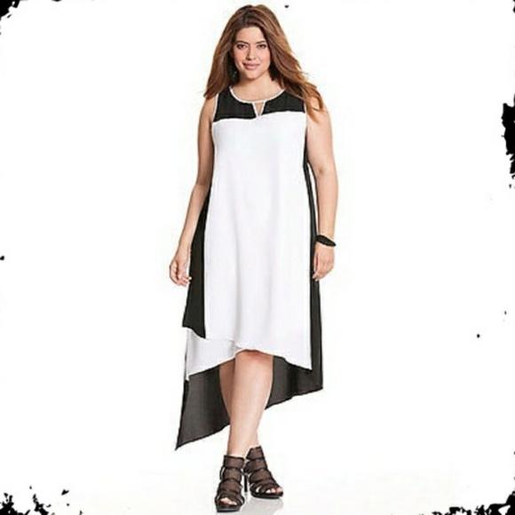 c1d3c416aaa Lane Bryant Dresses   Skirts - Lane Bryant Asymmetric color block 18 20 2X